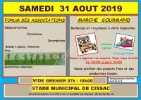 Forum des Associations 2019 / Vide-Grenier / Marché Gourmand