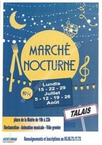 Marché Nocturne & Vide-Grenier 2019