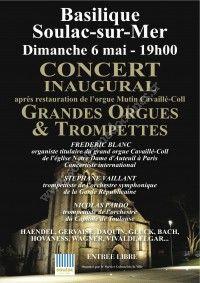 Concert inaugural Orgue Mutin Cavaillé-Coll