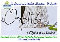 Le mythe d'Orphée à l'opéra et au cinéma