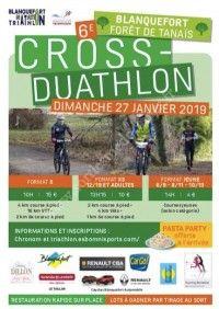 6ème Cross Duathlon de Blanquefort