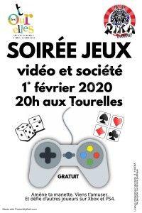 Soirée jeux vidéos et société