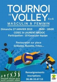 Tournoi annuel de Volley Ball