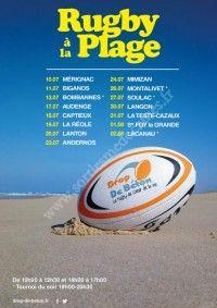 Rugby à la Plage 2018