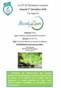 Stage de Body Zen