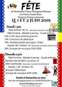 Fête de l'Association Franco-Portugaise d'Avensan 2019