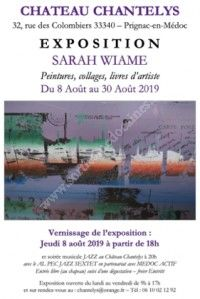 Exposition Sarah Wiame