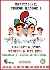 Concert de Printemps avec Anaitasuna