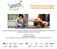 1ère Journée de l'emploi à domicile à Lesparre