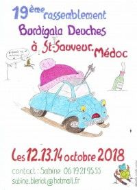 Rassemblement Burdigala Deuches 2018
