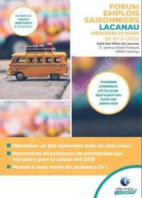 Forum Emplois Saisonniers 2019