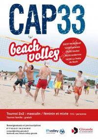 Beach Volley - Grand Chelem de Gironde 2018