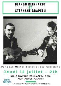 Concert : Django Reinhardt et Stéphane Grapelli