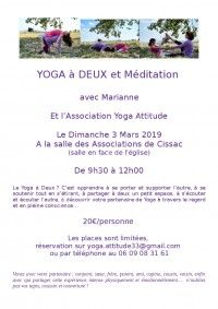 Yoga à Deux et Méditation