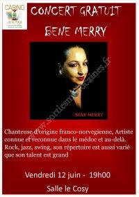Concert gratuit : Béné Merry