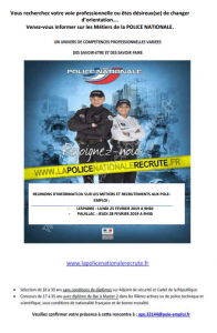 Réunion d'information Police Nationale