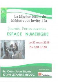 Journée Porte Ouverte - Espace Numérique
