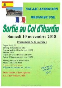 Sortie au Col d'Ibardin