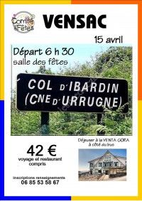 Sortie au col d'Ibardin en Espagne