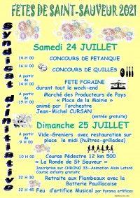 Fête de Saint-Sauveur 2021