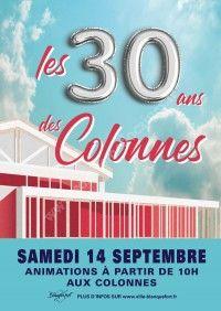Les 30 ans des Colonnes