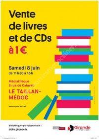 Vente de livres et CD : tout à 1euro