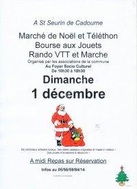 Marché de NOEL 2019 & Téléthon