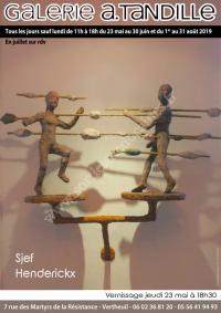 Exposition de Sjef HENDERICKX