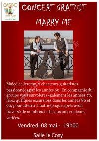 Concert gratuit - Marry Me