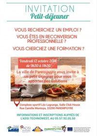 Invitation Petit Déjeuner