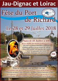 La Fête du Port de Richard 2018
