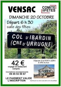 Sortie en Espagne - Col d'Ibardin