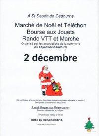 Marché de Noel 2018 et Bourse aux Jouets