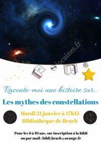 Raconte-moi une histoire sur... les mythes des constellations