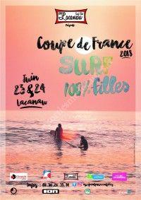 Coupe de France Surf 100% Fille 2018