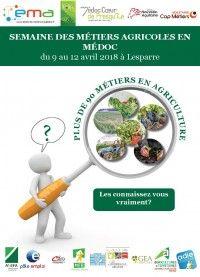 Semaine des Métiers Agricoles en Médoc