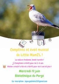 Comptines et Eveil Musical avec Little Mam'Z'Elle