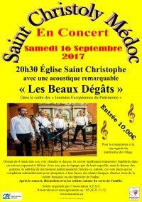 """En concert """"Les Beaux Dégâts"""""""