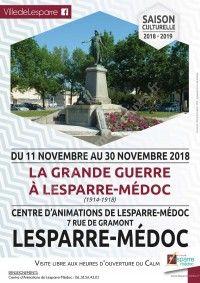 Exposition : La Grande Guerre à Lesparre-Médoc