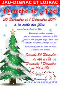 Le Marché de Noël 2019 du Comité des Fêtes