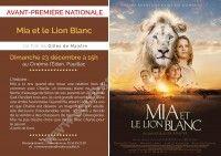 Avant première : Mia et le Lion blanc