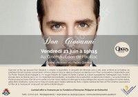 Don Giovanni  en direct de l'Opéra National de Paris