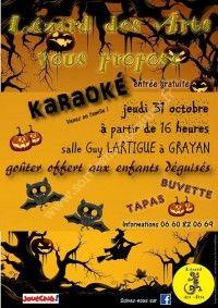 Karaoké d'Halloween