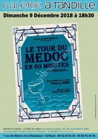 Le tour du Médoc en 80 minutes, ou presque ...