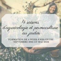 Formation 4 saisons d'agroécologie et permaculture au jardin