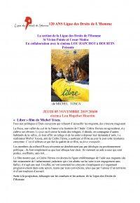 Ciné-Débat : Libre