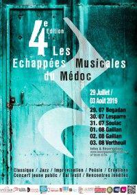 Festival Les Echappées musicales du Médoc - Concert d'ouverture Les vents de déchaînent