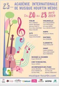 Académie Internationale de Musique Hourtin Médoc 2019