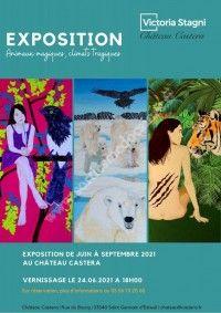 """Exposition """"Animaux magiques, climats tragiques"""""""