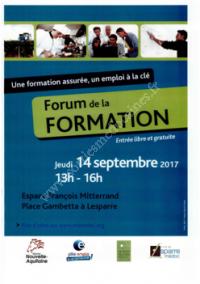Forum de la Formation 2017